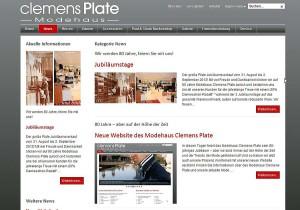 News › Modehaus Clemens Plate