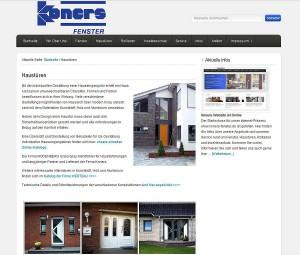 Detailseite Haustüren — Koners Fenster GmbH