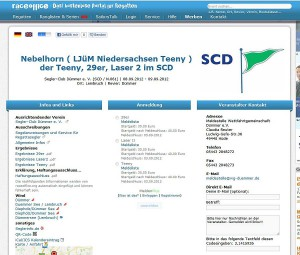 ScreenShot Onlinemeldeverfahren raceoffice.org