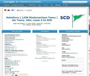 ScreenShot Onlinemeldeverfahren raceoffice.org