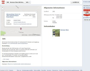 Facebook Fanpage - Optimierung des Infobereiches