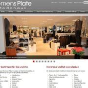 Modehaus Clemens Plate - Startseite