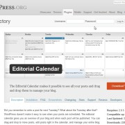 Editorial Calendar « WordPress Plugins