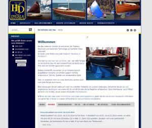 Fricke & Dannhus  Website  hier die Startseite 2009