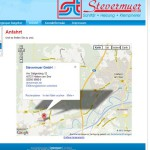 SHK-Website-Angebot Anfahrtsskizze