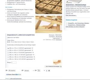 ShopModul WPShop Germany auf der SomnusNova Seite