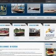 Fricke & Dannhus Homepage nach dem Relaunch 2011