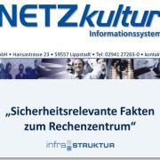 Fakten zum Rechenzentrum infra-struktur: Sicherheit in der Cloud