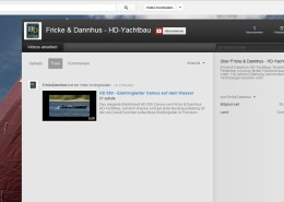 Fricke & Dannhus - HD-Yachtbau - YouTube Channel