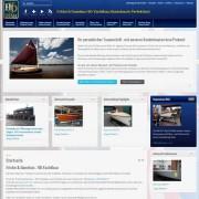Fricke & Dannhus: Responsive Website auf einem Desktop Rechner