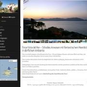 Ferienhaus mit Blick aufs Meer
