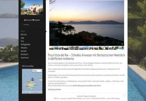 Ferienhaus mit Blick aufs Meer: Finca Casa del Mar