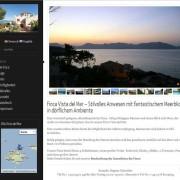 Finca Vista del Mar Website Startseite