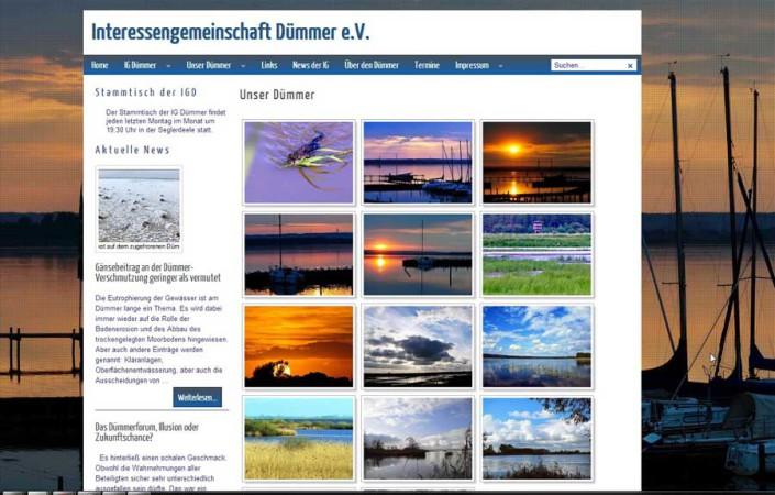 Interessengemeinschaft Dümmer - Bildergalerie