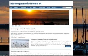 Interessengemeinschaft Dümmer - Startseite mit HTML5 Bildwechsler