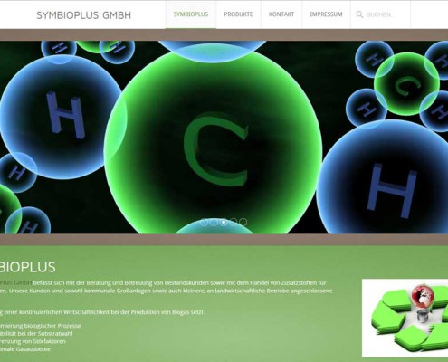 symbioplus Startseite