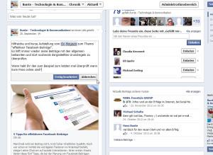 Facebook Bearbeitn Funktion (Speichern)