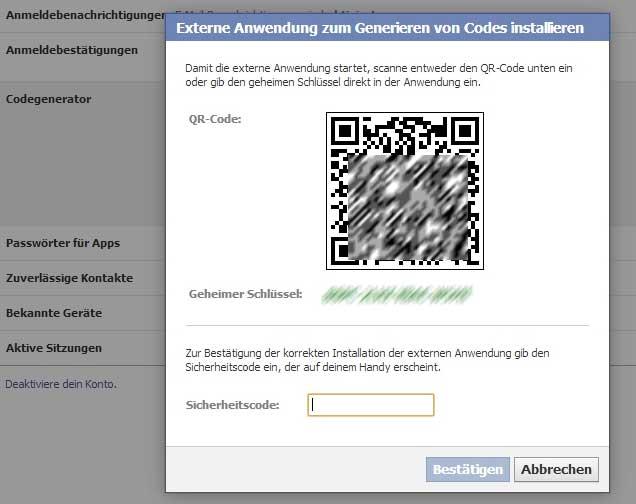 Codegenerator-App Weitere Eingabemöglichkeit
