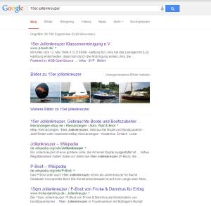 Google Suchergebniss