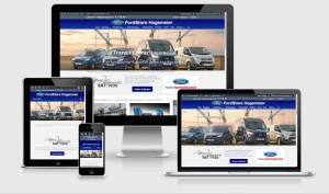 FordStore Hagemeier responsive Ansichten der Website