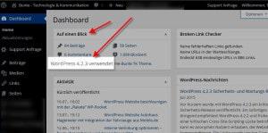 Neue-WordpressVersion