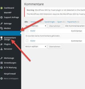 Wordpress-Admin-Chrome