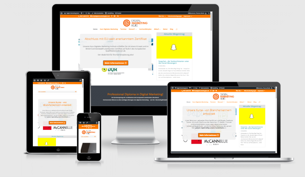 Colorful Digital Marketing Zertifikat Online Frieze ...