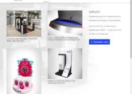 shopdesign Detail-Seite Displays