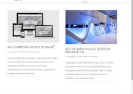 shopdesign Newsbereich
