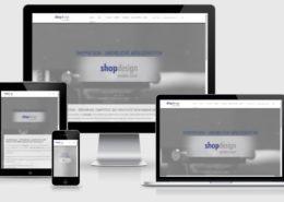 shopdesign responsive Startseitenansichten