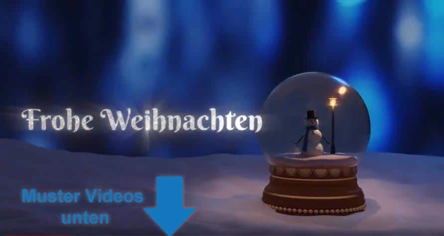 Kurze Weihnachtswünsche Für Kunden.Weihnachtsgrüße An Kunden Partner Und Follower Mit Preiswerten Videos