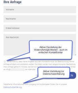 Dsgvo Datenschutz Grundverordnung Auswirkungen Auf Ihre Website